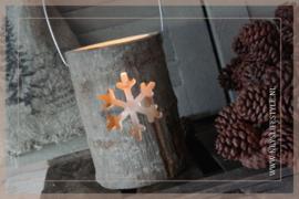 Lantaarn hout |  Snowflake