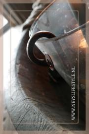 Hang kandelaar kaars | roest