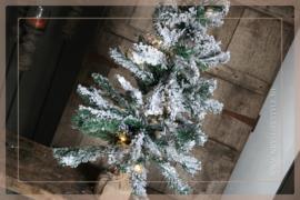 LED kunst kerstboom jute    90 cm