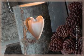 Lantaarn hout |  Heart