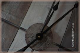 Klok ijzer | black XL