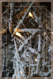 Kerstboom rotan LED  | M