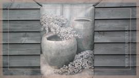 Tuinposter |  kruik/dadeltak