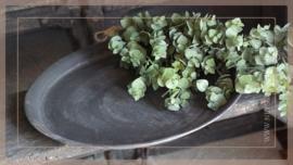 Dienblad zink dark brown |  39 cm