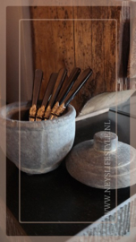 Candle cup set | grey