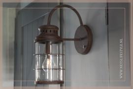 Wandlamp LED Lara   roest