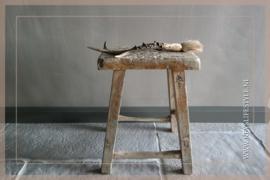 Chinees origineel houten krukje