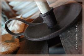 Oor kandelaar iron | bruin