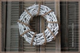 Krans Rope white   50cm