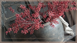 Bessen tak kunst rood | 70 cm