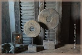 Ornament  grinder steen | S
