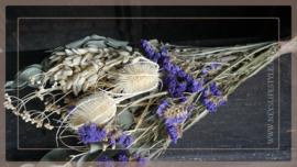 Bos droogbloemen | Purple