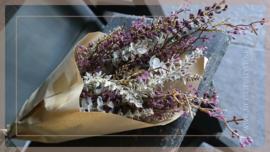 Bosje kunst droogbloemen | lavendel