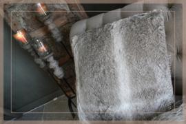 Kussen Bont 55 x 55 cm | fake fur