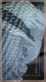 Plaid katoen streep   grijs