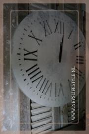 Klok betonlook | M