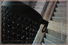 Wall theelichthouder | black
