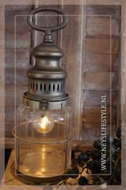 Olielamp lantaarn met lamp S