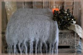 Plaid acryl | grey 130 x 170 cm
