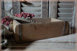 Oude houten brickmall S