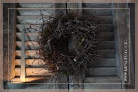 Krans Bonsai mos | 27 cm