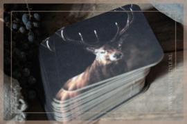 Onderzetters vilt | Rendier
