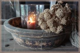 Oude houten olijfbak | 2