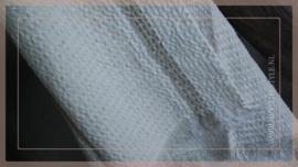 Plaid katoen streep | créme