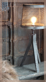 Lampenvoet industrieel |  3 poot