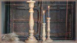 Tafellamp hout teak | M