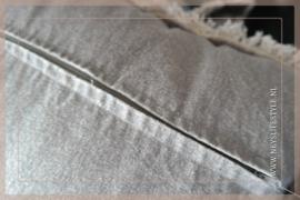 Kussen linnen zand Jintey 45 x 45 cm