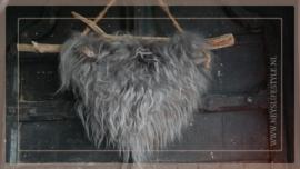 Hanger schapenwol aan stok   6