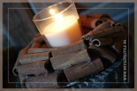 Krans candle | cinnamon