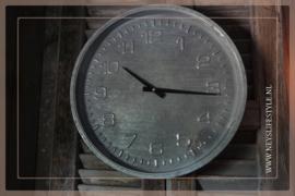 Klok metaal   39 cm