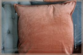 Kussen fluweel | orange