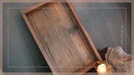 Dienblad oud hout | 50 cm
