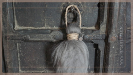 Toef schapenwol | grijs/bruin
