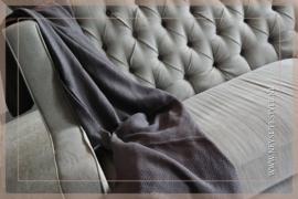 Plaid Zara 170 x 130 cm | antraciet