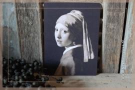 Deco bordje | Meisje met de parel