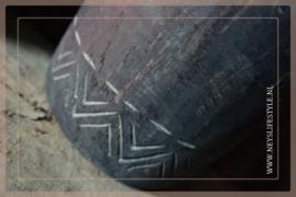 Oude Nepalese kruik | Black