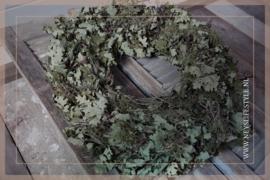 Krans oaked leaf | 60 cm