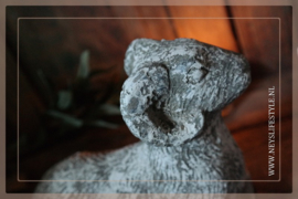 Stenen ram greywash | S