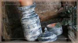 Klos kandelaar | greywash