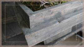 Etagère/tray vierkant | grey