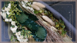 Bosje droogbloemen | sober