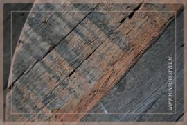 Houten plank ovaal | S