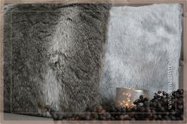 Kussen Bont 45x45 bruin | fake fur
