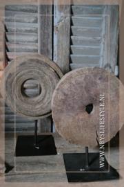 Katrol op standaard   hout