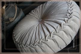 Velvet kussen zand | 60 cm