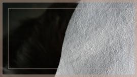 Konijnenvachtje kunst bruin